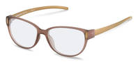 Rodenstock-Korrektionsfassung-R8016-light brown transparent