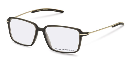 Porsche Design-Korrektionsfassung-P8311-dark grey transparent