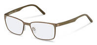 Rodenstock-Korrektionsfassung-R7076-light brown, olive