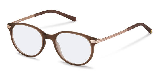 rocco by Rodenstock-Korrektionsfassung-RR439-brown transparent, rose gold
