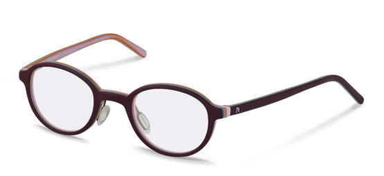 Rodenstock-Kinderbrille-R5299-dark red, rose layered