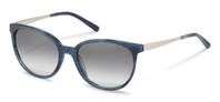 Rodenstock-Sonnenbrille-R3297-dark blue structured, palladium