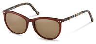 rocco by Rodenstock-Sonnenbrille-RR331-dark brown, brown structured