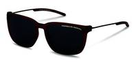Porsche Design-Sonnenbrille-P8637-red transparent