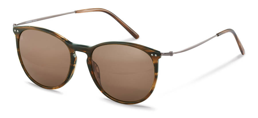 Rodenstock-Sonnenbrille-R3312-brownstructured/gunmetal
